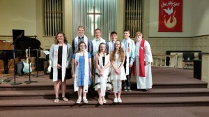 Our 2016 Confirmation Class