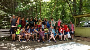 2017 Youth Mission Trip Copper Hill TN Raft