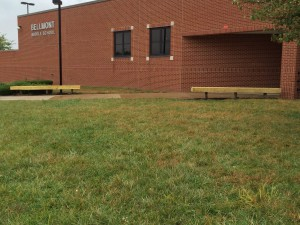 day of service 2015 bellmont benches