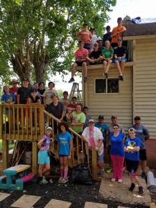 2017 Youth Mission Trip Copper Hill TN Group 1